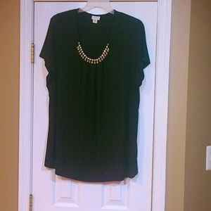 JACLYN SMITH Cute Blouse.Very Detailed. 2X in size